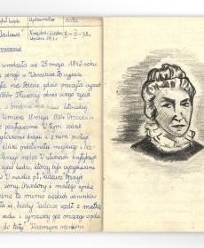 """Ilustracja do lektury Elizy Orzeszkowej """"Tadeusz"""""""