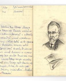 """Ilustracja do lektury Bolesława Prusa """"Placówka"""""""