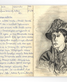 """Ilustracja do lektury Marii Konopnickiej """"Mendel Gdański"""""""